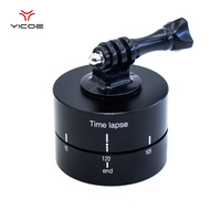 Time Lapse Stabilizer 360 Degrees Panning Rotating 60 Min Mount Tripod Adapter For Gopro 5 4