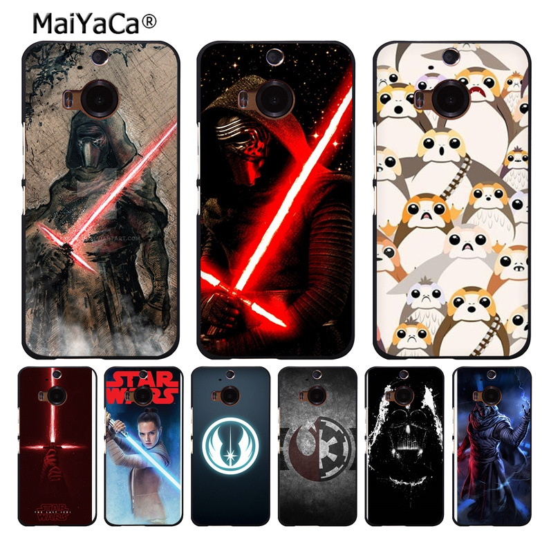 MaiYaCa STAR WARS COMIC DARTH VADER YODA Darth Vade phone case for htc M8 M9 M7 X9 A9 case Cover funda coque image