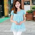 2017 весна с длинными рукавами одежда для беременных беременные женщины clothing ropa premama blusas para gestante материнства блузки одежда