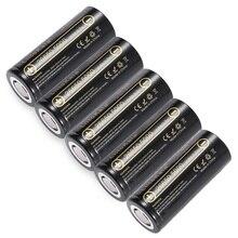 5 шт. liitokala 26650 5000 мАч 26650-50a li-ion 3.7 В Перезаряжаемые Батарея для фонарика 20A