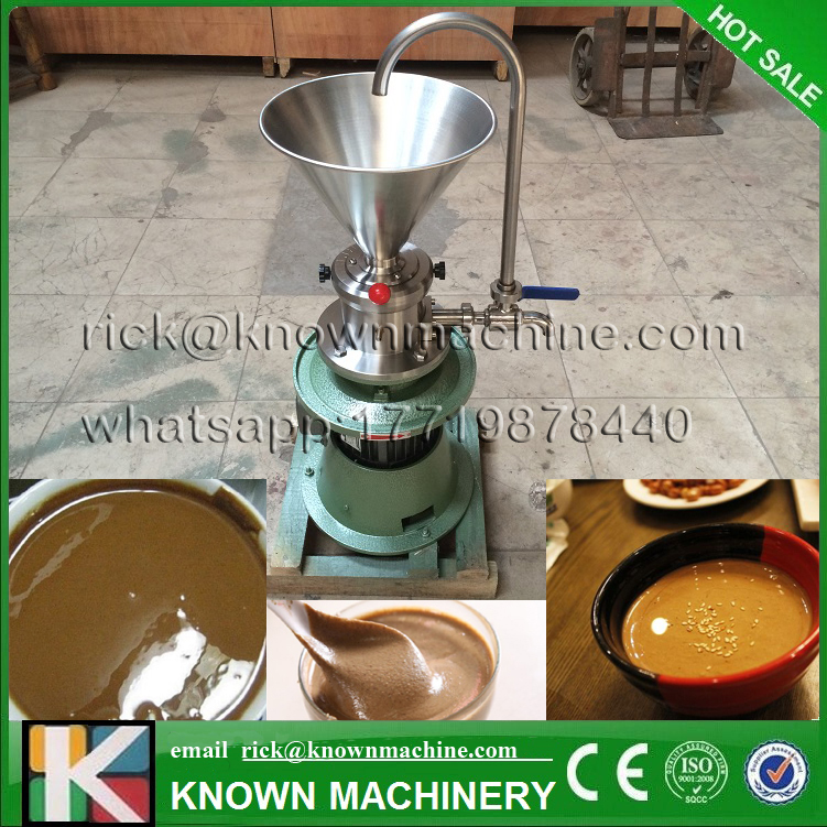 Free shipping by sea 50/60HZ 4.1L capacity vertical type KN-60 peanut butter colloid mill machine on hot sale free shipping by sea 50 60hz 4 1l