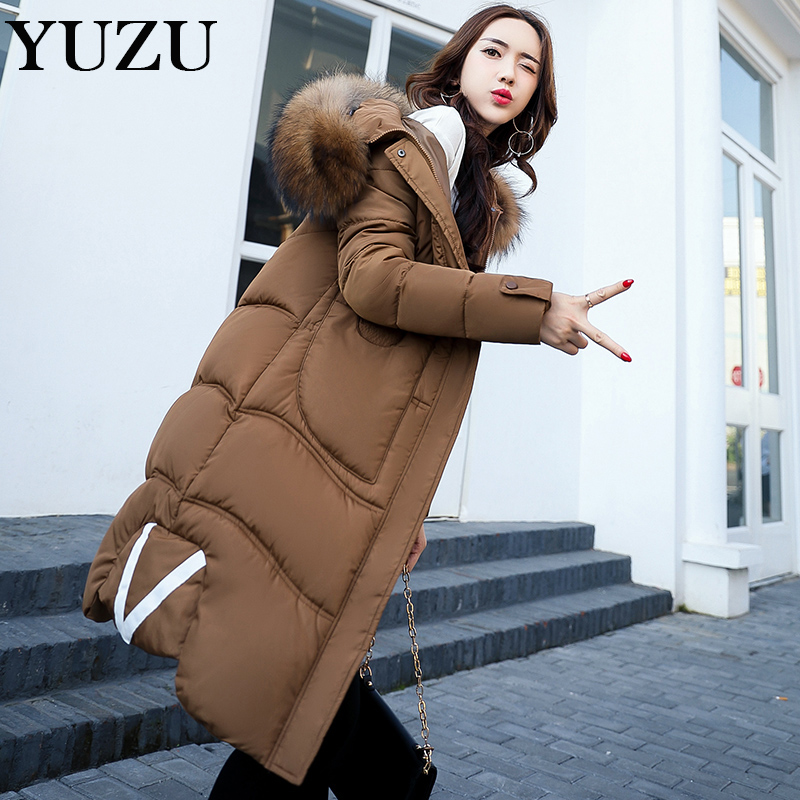 Winter Warm Hooded Women Down Jackets Casual X-Long Cotton Coats & Jackets Thicken Outwear Casual Solid Parkas Plus Size 3XL winter women parkas solid color mid long section large size thicken down cotton jackets fashion hooded slim cotton coats ly0254