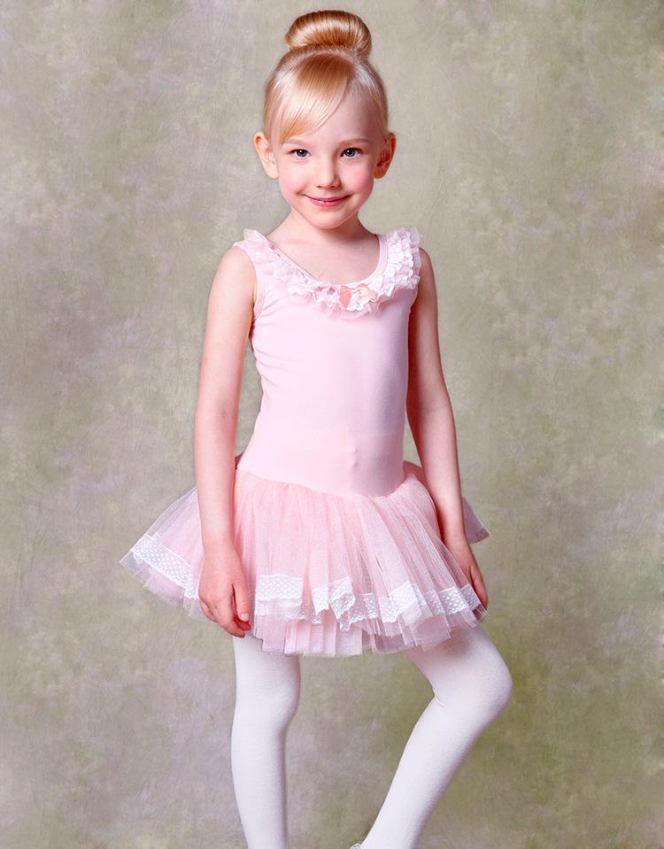 e1f940a07 100 130cm Pink Blue Girl Tutu Dresses Princess Kid Ballet Practice ...