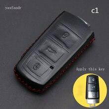 car accessories key cover araba aksesuar case for Volkswagen VW CC Passat B6 B7 Passat 3C CC Maogotan R36 B5 B7L Auto