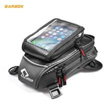 Motorcycle Tube Tank Bag Thigh Leg Bags Touch Screen Mobile Phone Bags GPS Navigation Travel Pack Motorbike Front Backpack motorcycle tank bags mobile navigation bag fits kawasaki send waterproof cover consulting model and year