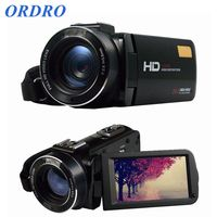 Новое поступление Ordro hdv z20 Wi Fi видеокамера Full HD 1080 P Ручной цифровой Камера с внешний микрофон (hdv z20)