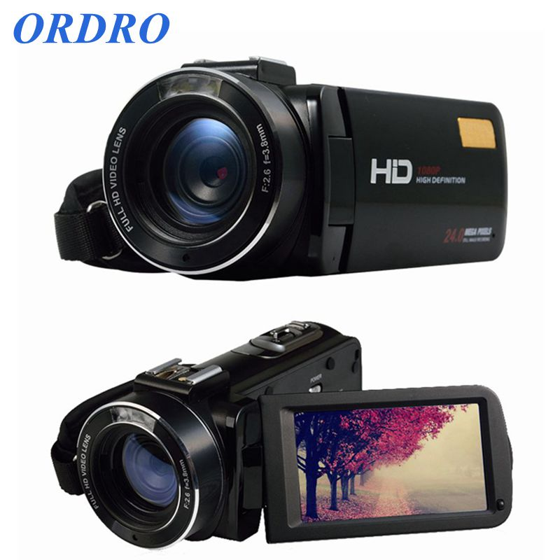 New Arrival ORDRO HDV Z20 Wifi Video Camcorder Full HD 1080p Handheld Digital Camera with External