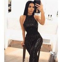 black bodysuit sexy glitter sequin rompers womens jumpsuit bodies ladies body suit jumpsuits for women 2018 party club autumn