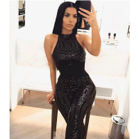 black bodysuit sexy glitter sequin rompers womens jumpsuit bodies ladies body suit jumpsuits for women 2018 party club autumn