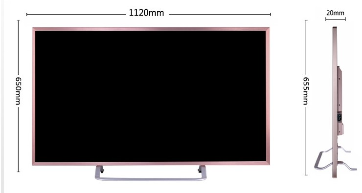 55in tv sizes