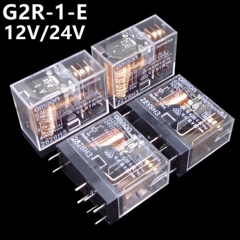10PCS OMRON RELAY G2R-1-E-12VDC G2R-1-E-24VDC G2R-1-E 12V 24V 16A  1