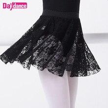 Skirts Dancewear Leotards Lace Lyrical Ballet Girl Toddler Black White Pink Kids