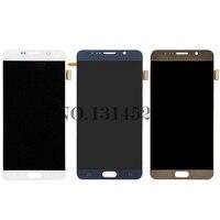 Для SAMSUNG Galaxy Note 5 ЖК дисплей Дисплей Сенсорный экран Панель планшета Note5 N920A N9200 SM N920 N920C Замена Ремонт Запчасти