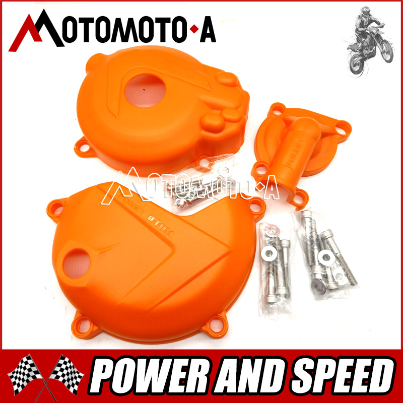 Новая модель ZONGSHEN NC250 OTOM сбоку Мотоцикл Статор двигателя катушки водяной насос сцепления гвардии Чехлы для мангала протекторы