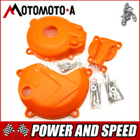 New Model ZONGSHEN NC250 OTOM Side Motorcycle Engine Stator Coil Water Pump Clutch Guards Covers Protectors