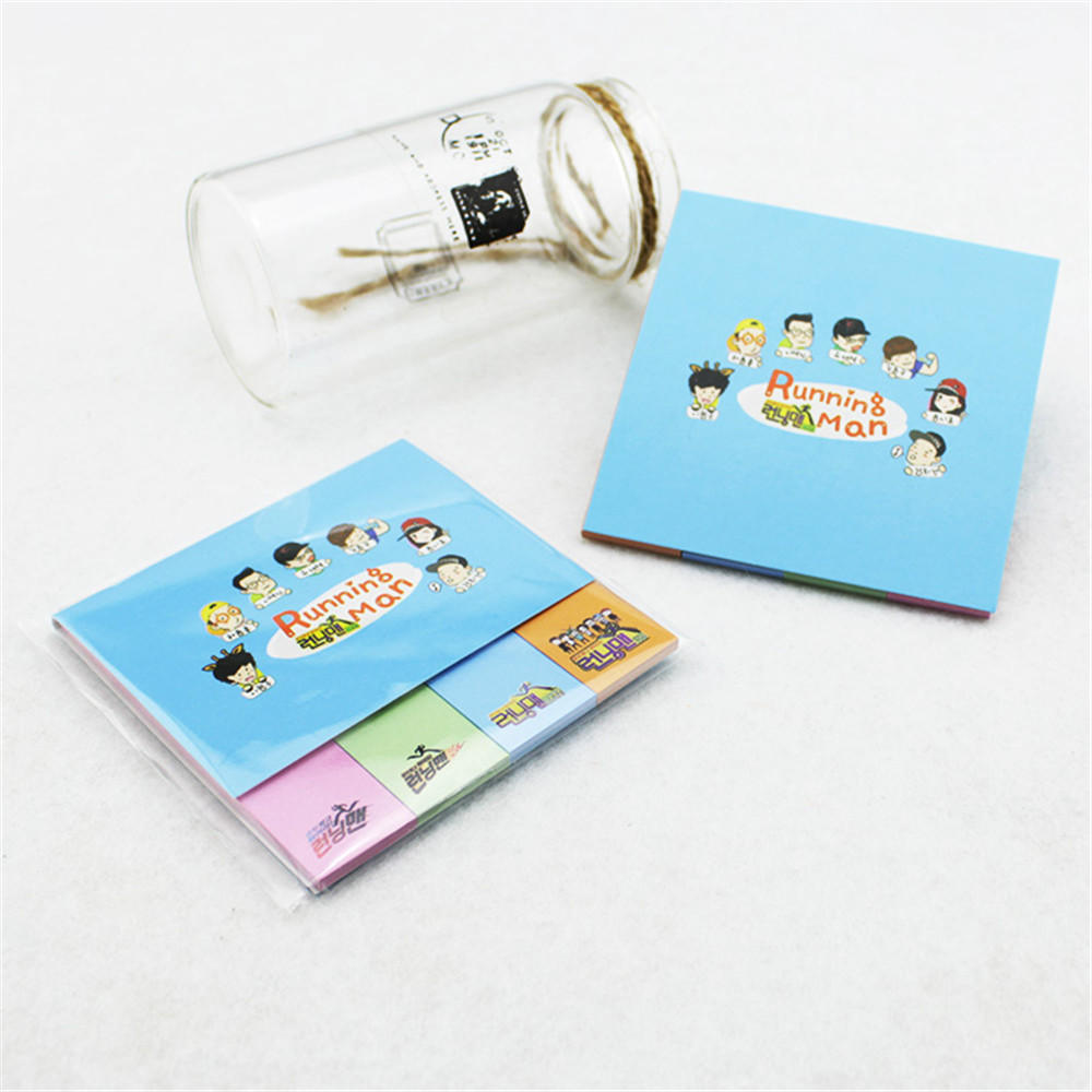 Youpop K-POP Running Man 2016 KPOP Memo Sticky Notes Portable Post-It Notes Bookmark Marker Home/Office P2207