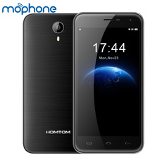 "HOMTOM HT3 3G Smartphone Android 5.1 MTK6580A Quad Core 1G+8G 2MP 5MP 5.0"" 1280 * 720 Cellphone Dual Cameras Mobile Phone"