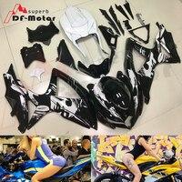Full Fairing Kit ABS Bodywork Fairing Kit for SUZUKI GSX R 600 750 2008 2009 2010 GSXR Motorcycle Plastic Fairing 08 09 10 K8