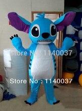mascot Stitch Mascot Costume Lilo & Stitch Cartoon Character Adult Size Mascotte Outfit Suit Fancy Dress EMS free shipping