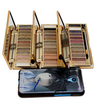 Naked Palette Eyeshadow Makeup Waterproof 12 Color Glitter Shimmer Make Up Colors Naked Pigments Professional Eyeshadow