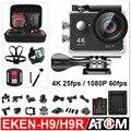 """Ação cam EKEN H9/H9R (com controle remoto) Ultra HD 4 K WiFi 1080 P/60fps 2.0 """"170D Helmet Cam ir pro câmera à prova d' água"""