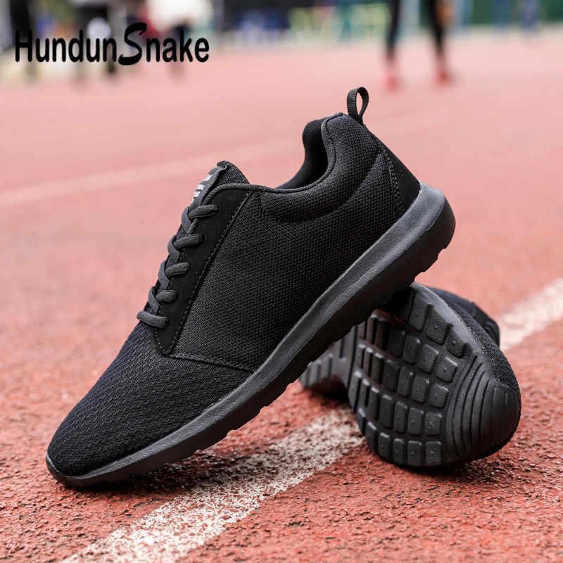 f1dec9639cde Detail Feedback Questions about Hundunsnake Mesh Sneakers Shoes Men s  Breathable Shoes Men Sport Summer Women Krasovki Men Large Size Zapatillas  Black Walk ...
