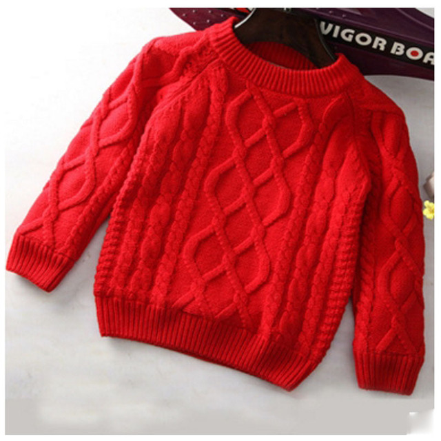Winter clothes 2016 autumn winter children's clothing jacket / sweater / plush 2-7 years old boys and girls thickening sweater f