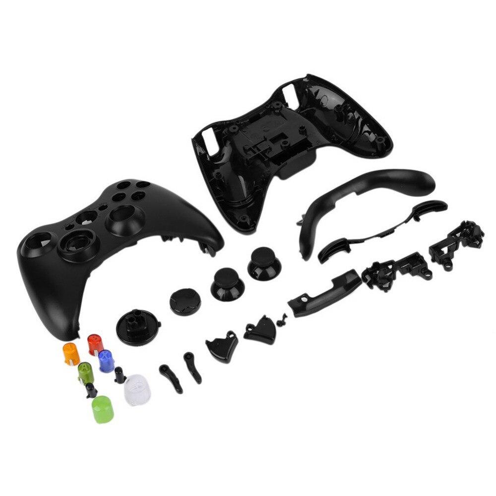 Bluetooth inalámbrico GamePad controlador remoto vivienda completa Conchas para Xbox 360