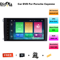 HD Octa Core 8 Android 8 0 Car DVD Player For Porsche Cayenne 2003 2010 With