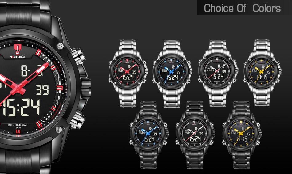 HTB142cJIVXXXXcSXVXXq6xXFXXXP - NAVIFORCE 2017 Luxury Sport Watch for Men
