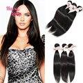 3 pçs/lote 34 polegadas 36 polegadas 38 polegadas Halo Lady 7A grau indiano Natural hetero virgem cabelo 100 não transformados cabelo humano - extensão