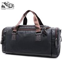 Fashion Brand Women Travel Bags Large Capacity Leather Business Luggage Travel Duffle Men Shoulder Bags Sac De Voyage Tote