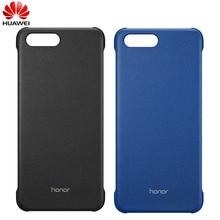 オリジナル Huawei 社公式 honor V10 ケースハード PC 磁気 Pu レザー用 honor V10 ビュー 10