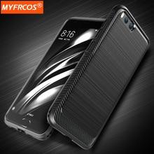 Чехол Для Xiaomi ми-6 роскошные волочения Проволоки ТПУ Крышка Полная Защита Чехлы для xiaomi 6 ми 6 корпуса Мобильного телефона Аксессуары