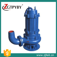 Head 9m 60m3/h 3kw 4hp 380v blockage-free submersible sewage pump for mining
