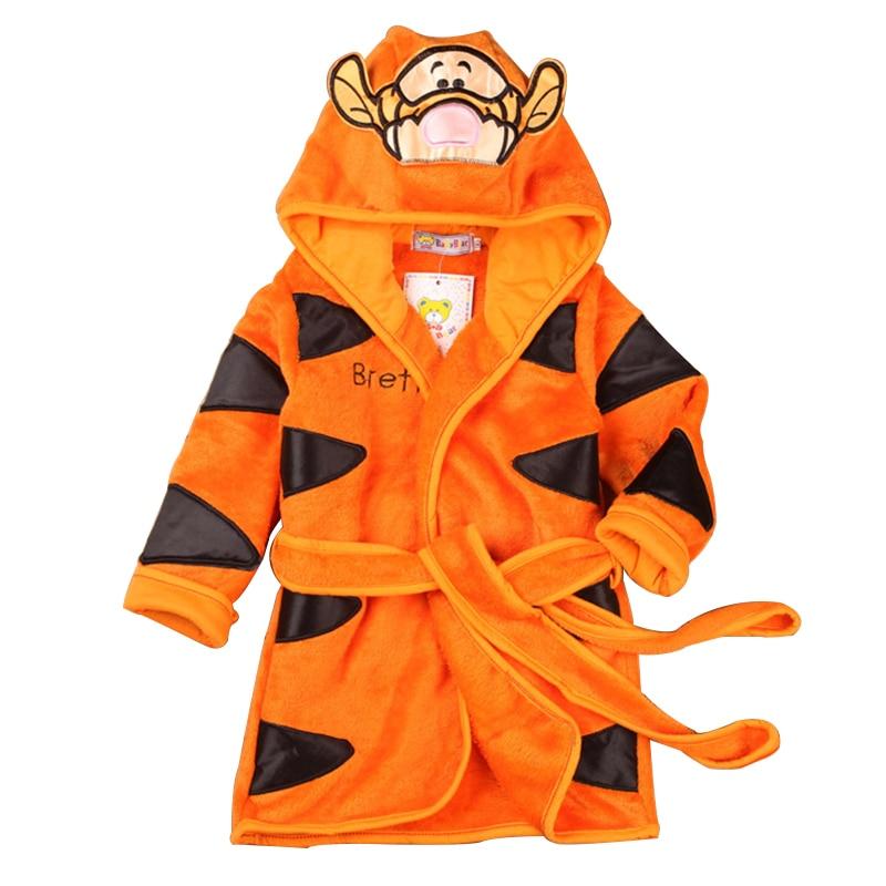 US $11.5 20% OFF Neue Charakter Baumwolle Kind Robe kinder Bademantel kinder Roupao Infant 6 Farben Baby Tuch Bad Robe Für Baby Mädchen jungen in