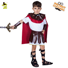 ФОТО boys roman gladiator costumes masquerade party brave warrior decoration outfits  classical roman fighter role play sets