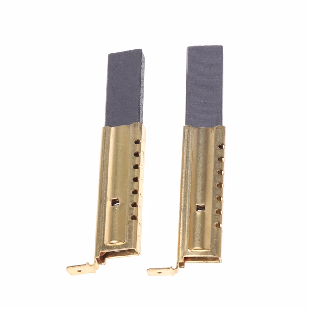 1 Pair Useful Washing Machine Motor Carbon Insert Brushes L94MF7 For Whirlpool