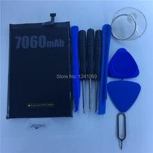 100% オリジナルバッテリー doogee BL7000 バッテリー 7060 2000mah のロングスタンバイ時間与える逆アセンブルツール doogee BL7000 バッテリー