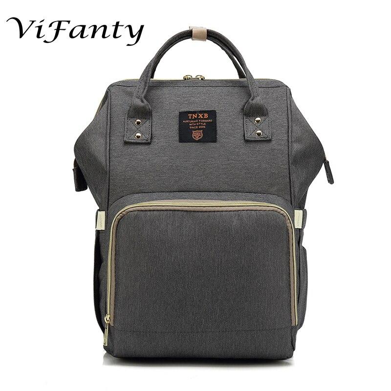 Herrentaschen Rucksäcke Vifanty Marke Baby Mummy Windel Windel Rucksack Taschen Für Reise Strukturelle Behinderungen