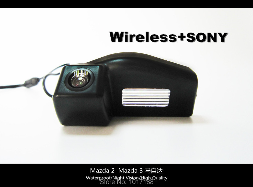 HD!! WIFI Camera Wireless Car Rear View Camera SONY Chip For Mazda 2  Mazda 3