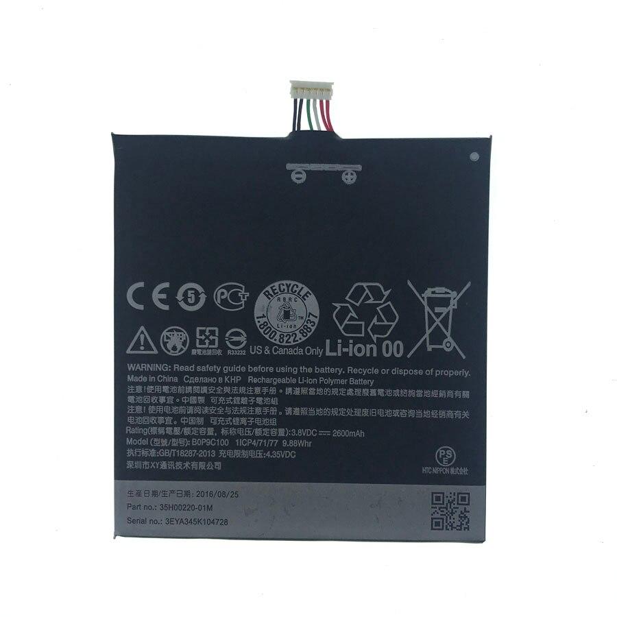 Em Estoque Bateria Para HTC Desire 816 800 D816W BOP9C100 D816 816W A5 816t 816v 816e Celular bateria + Número de Rastreamento