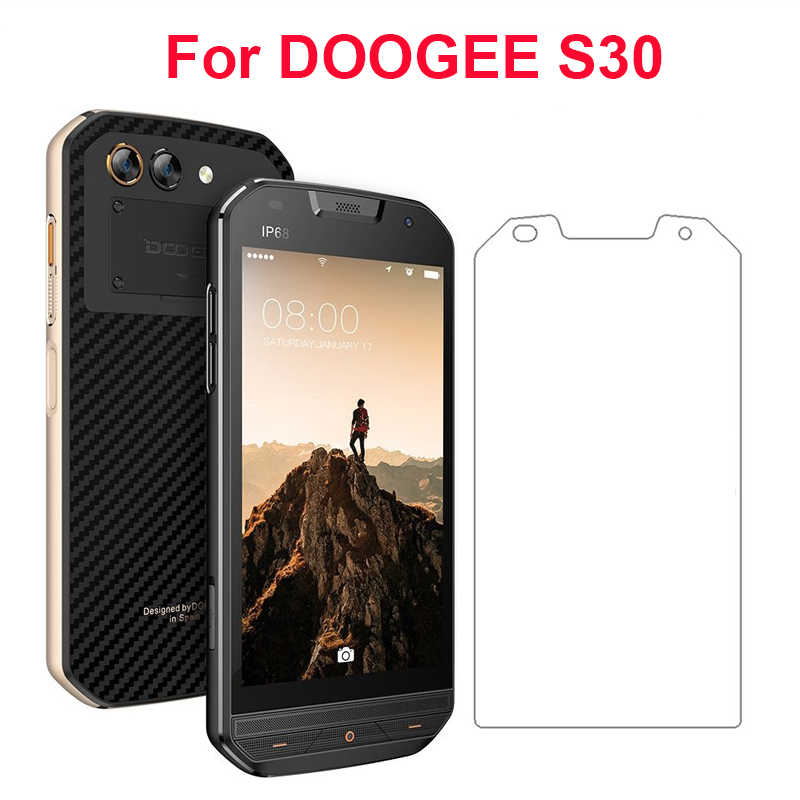 2pcs sFor Glass Doogee S30 Tempered Glass for Doogee S30 Screen Protector for Doogee S30 ip68 Cover Glass HD Thin Film