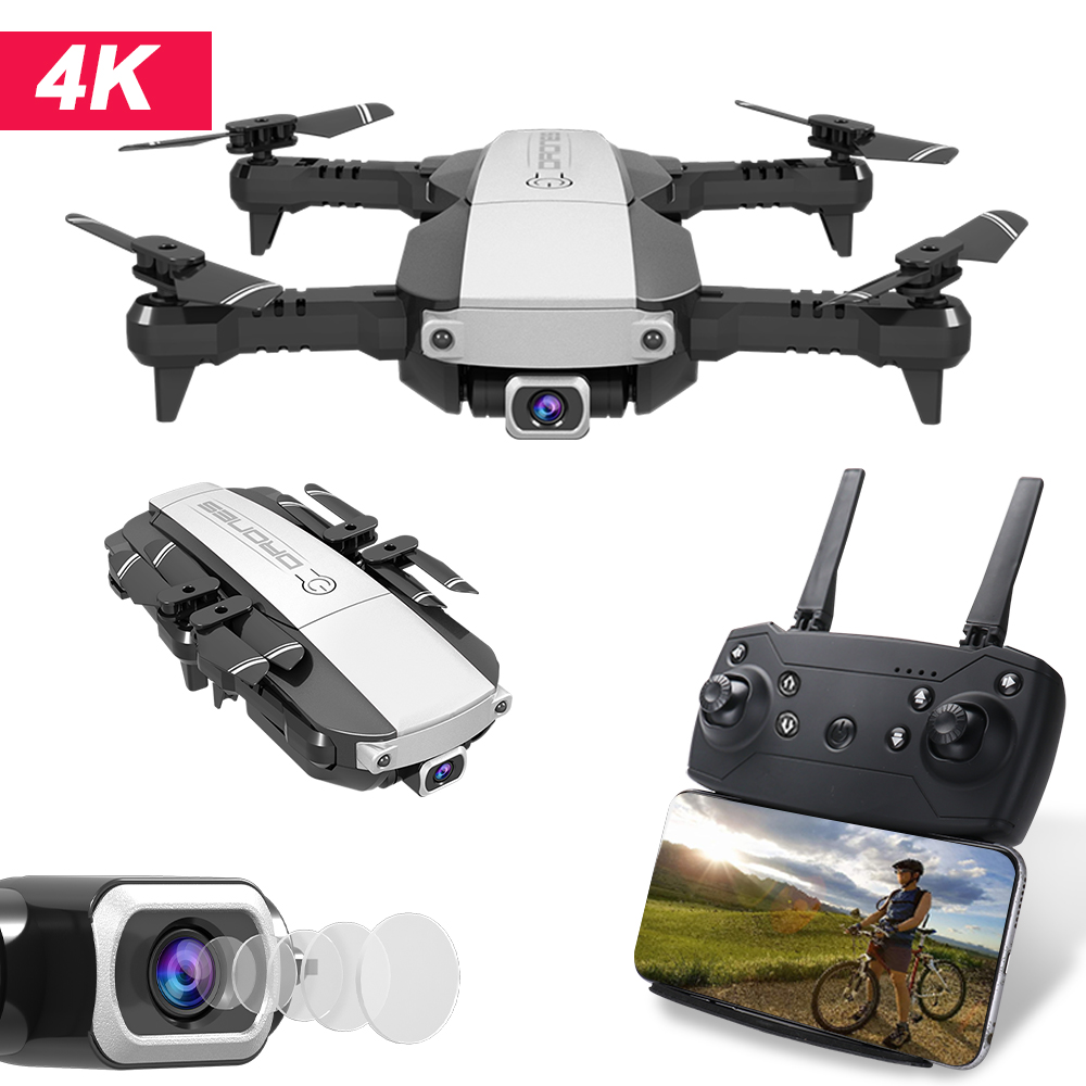 New RC Drone  4K / 1080P Quadcopter 2.4GHz WiFi FPV Foldable Mini GPS Drones Real-time Transmission Camera Dron Quadcopter