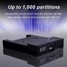 Эмулятор флоппи-накопителя 500 кбит/с USB флоппи-накопитель для чтения USB флоппи-эмулятор пластик 1,44 МБ 2HD эмулятор моделирования