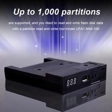 Usb-эмулятор флоппи-дисковода для управления промышленным оборудованием 500 кбит/с USB накопитель читает USB флоппи-эмулятор Пластик 1,44 MB 2HD Эмулятор Бесплатная доставка