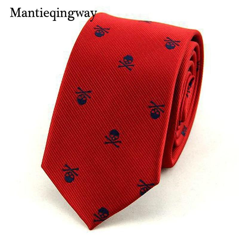 Mantieqingway Corbatas para Hombre 6 cm SKINny Poliéster Seda - Accesorios para la ropa - foto 2