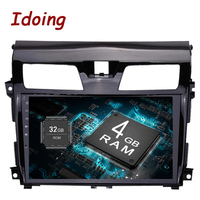 Idoing 10.22Din Android8.0 For Nissan Teana 2013 2015 Car Android Multimedia Player 8Core 4G+32G Steering Wheel Fast Boot tv