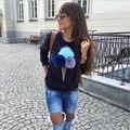 Осенью Новый Женская Мода Свитера Пушистый Шарик Мороженого Торт Моделей Рубашка 31