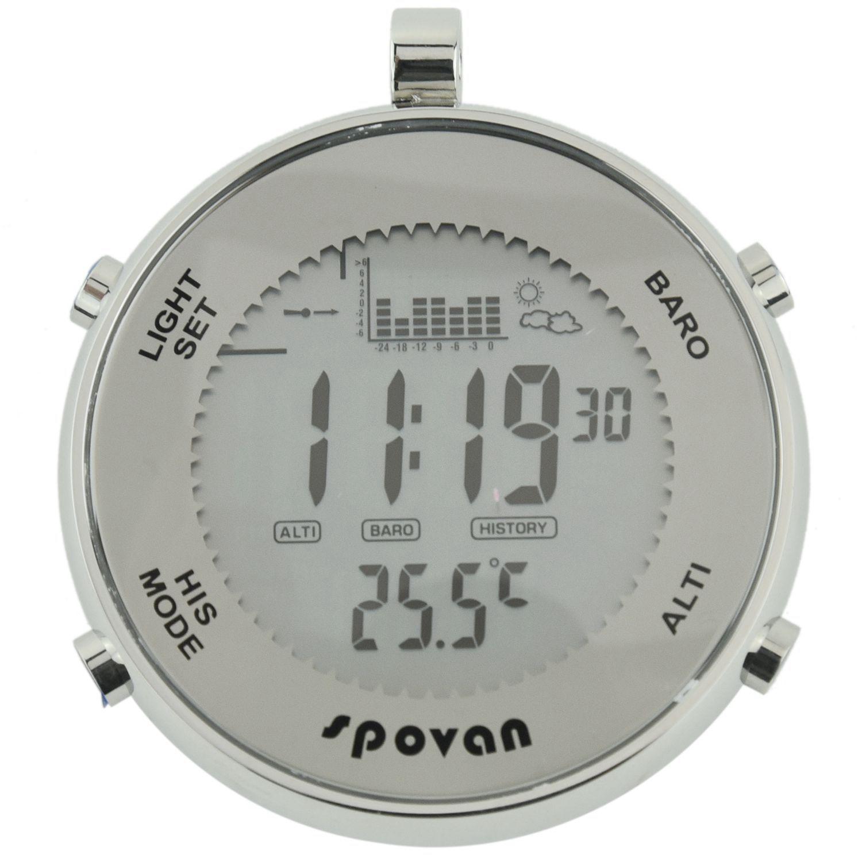 Spovan SPV600 Outdoor Waterproof Pocket Watch Unisex Multifunctional Sport Watch